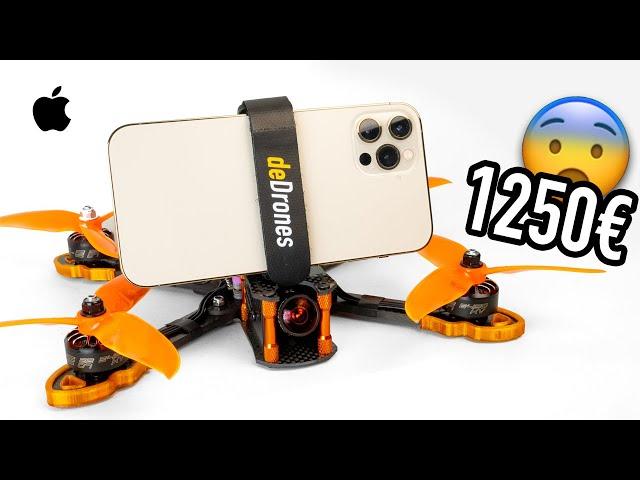 iPhone 12 Pro / Drone FPV ¿Sobrevivirá? 😨