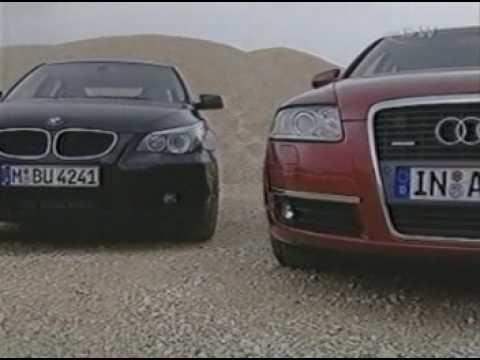 AUDI A6 3.0 TDI vs BMW 530 D vs MERCEDES BENZ E 320 CDI