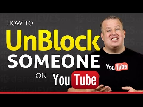 How To Unblock or UnBan Someone on Your Youtube Channel