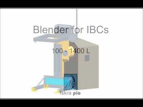 Iskra PIO - Blender for IBCs - Pharmacy