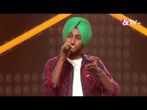 Parakhjeet Singh - Ikk Kudi | The Blind Auditions | The Voice India S2