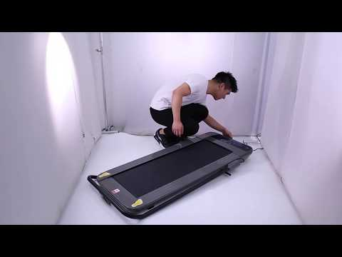 VEVOR Treadmill Under Desk Treadmills Walking Pad Workout With Fodable Handrail