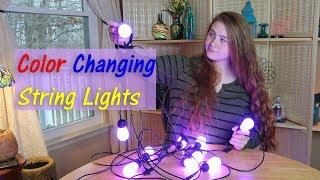 LED Renk Değiştirme Dize Işıkları  Govee Eve Açık/Kapalı