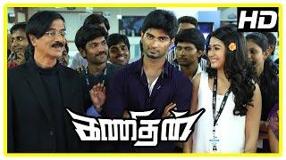 Kanithan Tamil movie | Climax Scene | Che Guevara Song | Tarun passes on | Atharva | End Credits