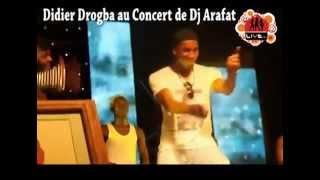 Didier Drogba au concert de Dj Arafat !