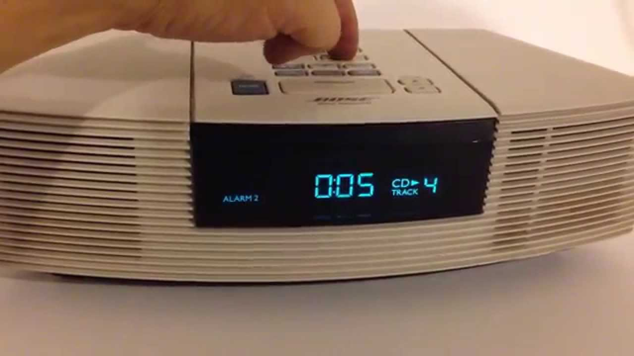 bose wave radio cd player stereo youtube. Black Bedroom Furniture Sets. Home Design Ideas