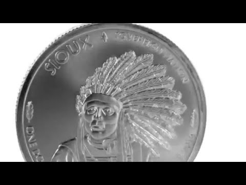 APMEX Silver Coins | 2015 1 oz Silver BU Native American Mint $1 Sioux Indian