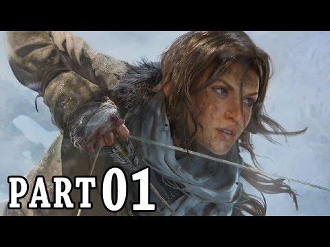 Lets Play Rise of the Tomb Raider Gameplay German Deutsch Walkthrough