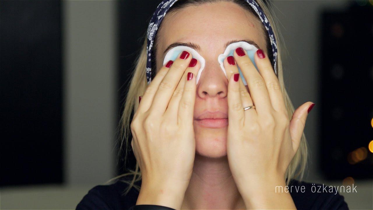 Makyaj Göz Makyajı Nasıl TemizlenirEvde Salatalık Sütü Yapımı