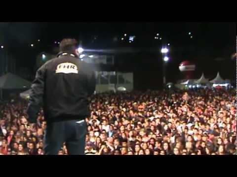 Locução  Fabiano Thibé da Tv Alterosa no Show Gusttavo Lima em Varginha MG