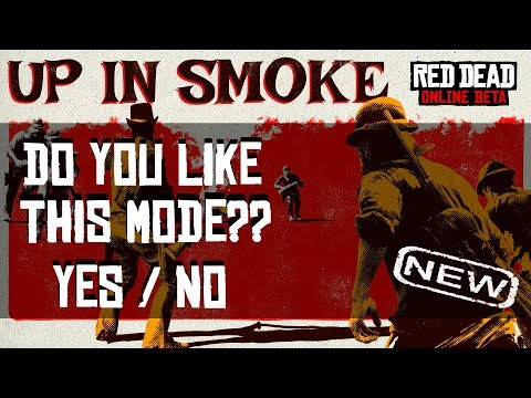 RED DEAD REDEMPTION 2 ONLINE // *NEW* MODE UP IN SMOKE // FIRST TIME GAME PLAY // IS IT FUN??? thumbnail
