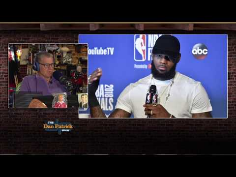 Dan Patrick on LeBron's Hand Injury: