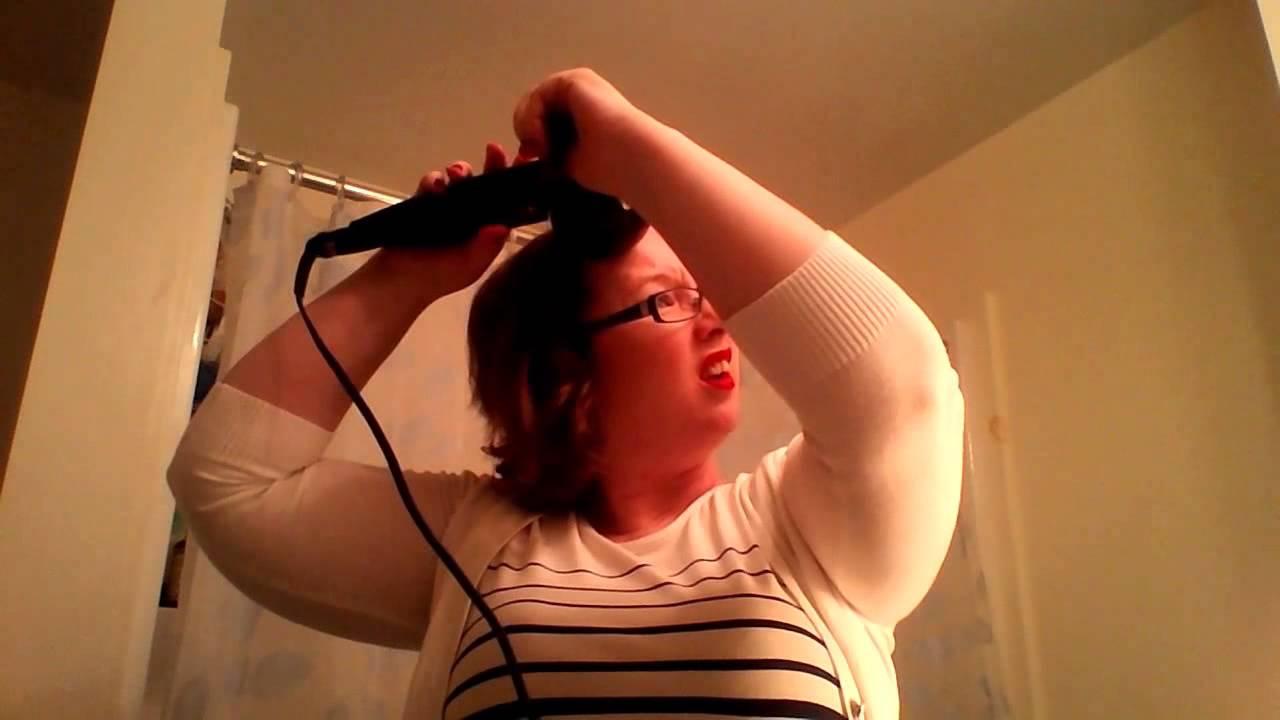 Conair Curl Secret Review Demo On Short Hair Youtube