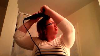 Repeat youtube video Conair Curl Secret Review & Demo on Short Hair