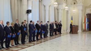 STIRIPESURSE.RO Depunere Juramant Guvernul Tudose - 29 iunie 2017