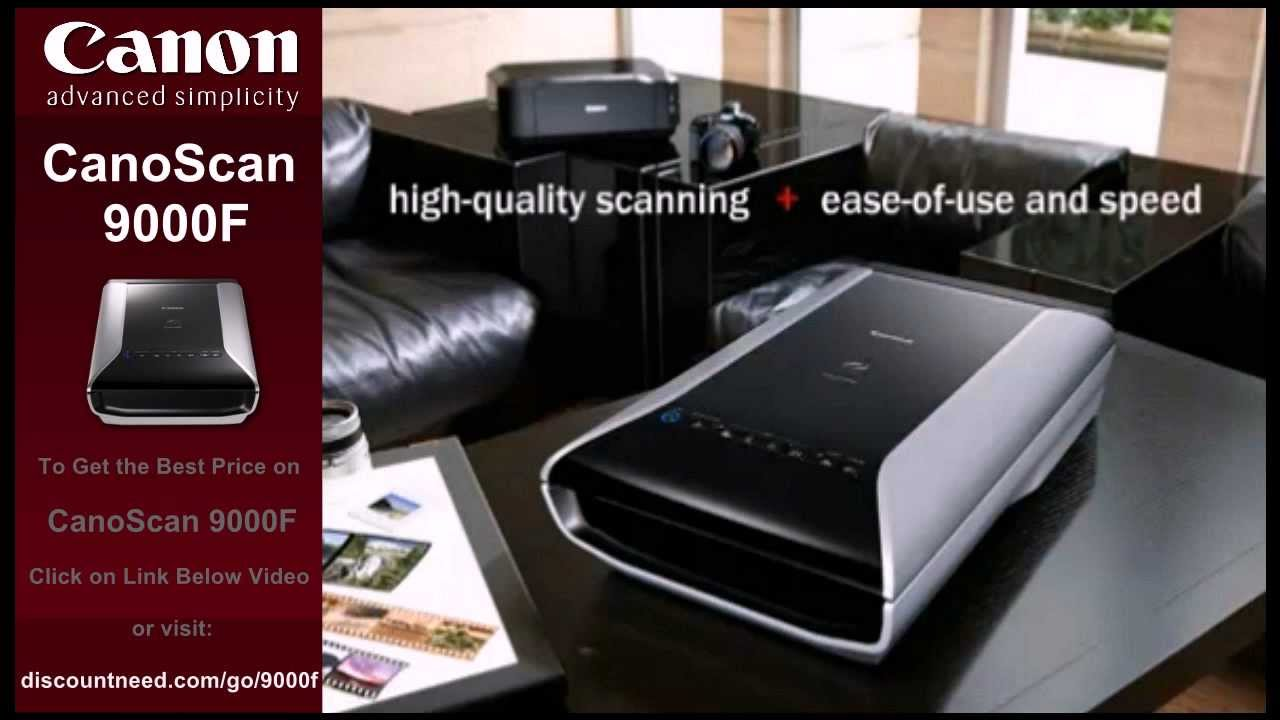 CANON CANOSCAN 9000F SCANNER WINDOWS 7 DRIVERS DOWNLOAD