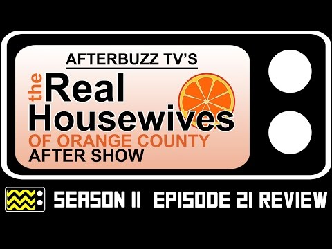 Real Housewives Of Orange County Season 11 Episode 21 Review & After Show | AfterBuzz TV