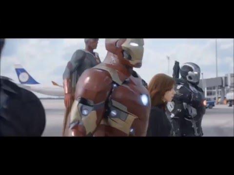 Capitán América : Civil War (TRAILER FAN MADE)