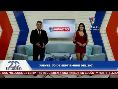 Noticiero Impacto VTV Meridiano del 30 de Septiembre de 2021