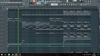 ЛСП - Канкан (instrumental) МИНУС FL Studio 12 *FLP*