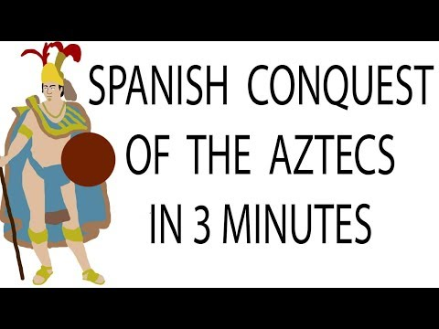Spanish Conquest of the Aztecs | 3 Minute History