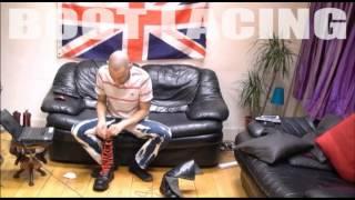 Proper Skinhead Boot-Lacing