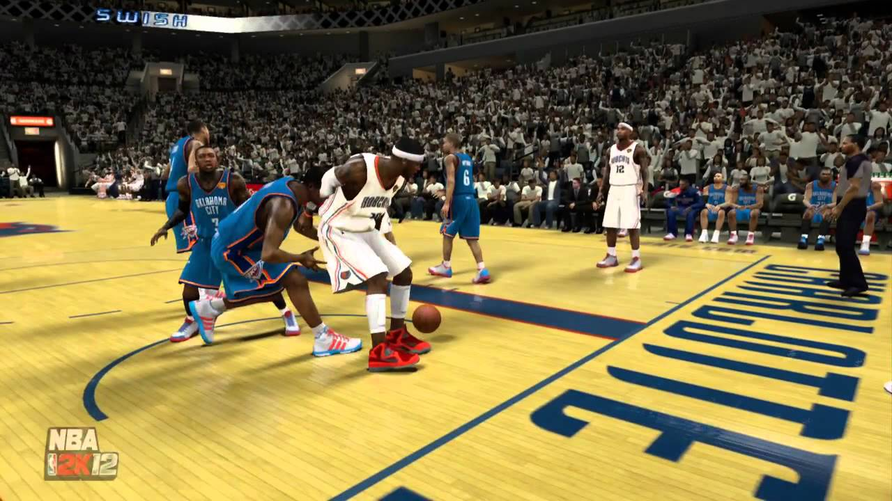 NBA 2k12 My Player Playoffs: NBA Finals Game 5 | Elimination Game | Kevin Durant vs MVP Neal ...