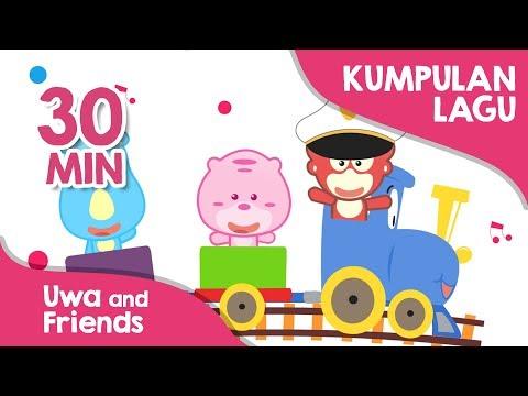 Koleksi lagu anak Indonesia terpopuler 30 Menit - Uwa and Friends