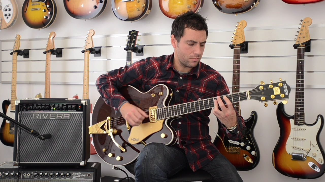 Gretsch G6122 Country Classic II & Rivera Clubster 25 - YouTube