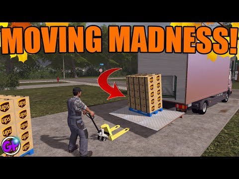 MOVING COMPANY | WITH SPENCER TV | FS17 GAMEPLAY | FARMING SIMULATOR 2017 thumbnail