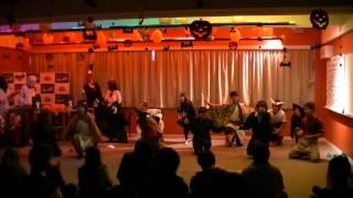 福井大学よっしゃこい2013年度演舞「夢光咲」 むこうへ ハロウィンパー...