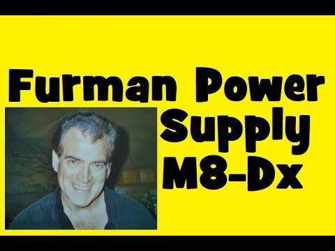Furman Power Supply Conditioner Guitar Bass Recording Rack M8-Dx