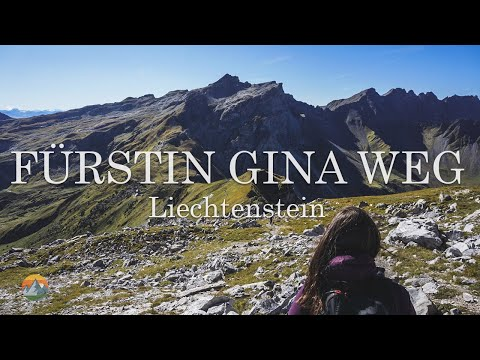 This is what Liechtenstein looks like on a sunday hike - Fürstin Gina Weg