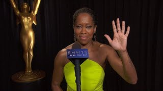 70th Emmys Thank You Cam: Regina King From Seven Seconds