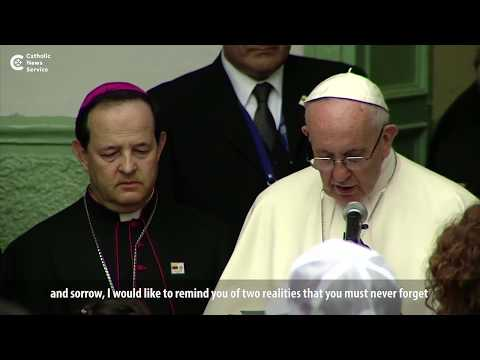 Pope prays for Colombia