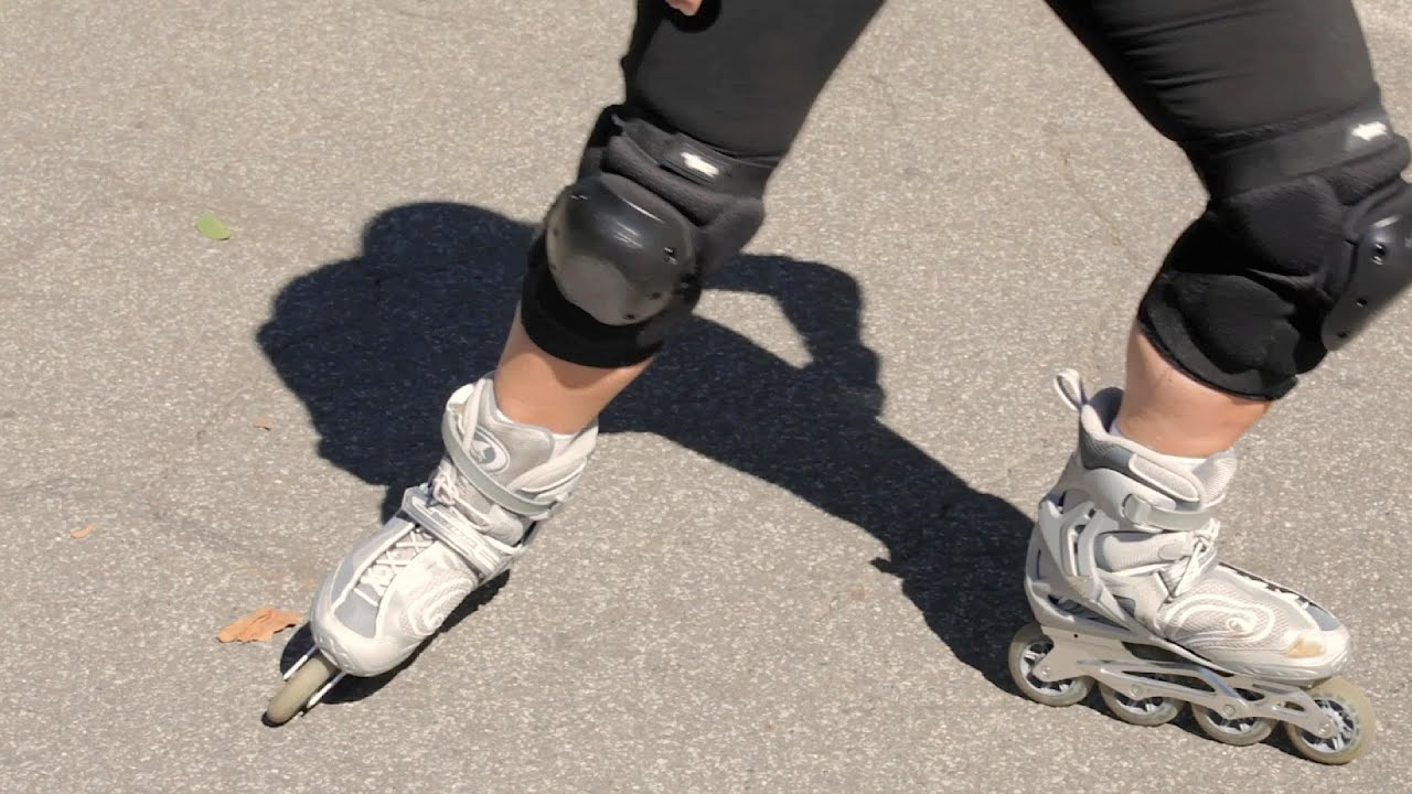 06e3813f36b1f How to Power Slide on Rollerblades