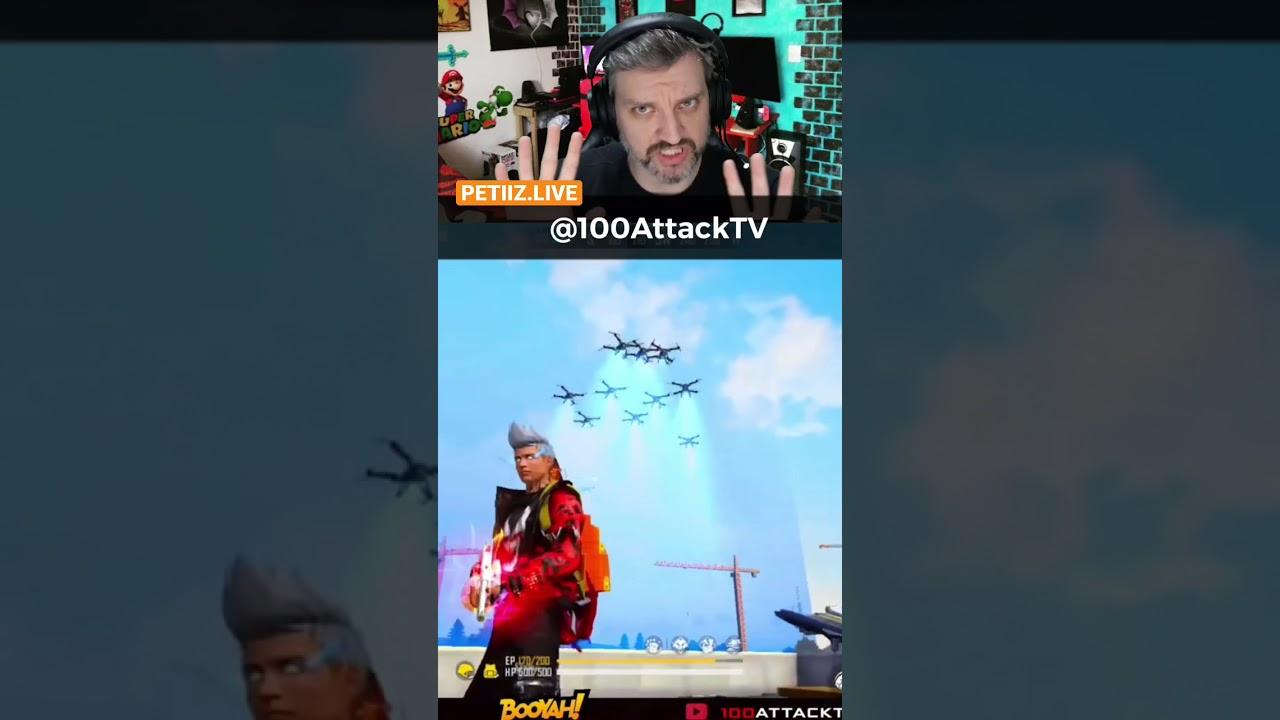 É possível subir no drone do Free Fire? #shorts