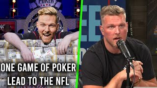 One Poker Game Got Pat McAfee To The NFL