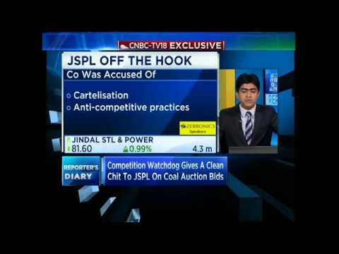 Competition Watchdog Gives A Clean Chit To JSPL On Coal ...