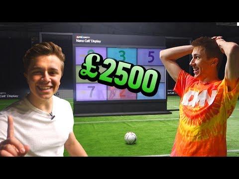 THE FOOTBALL CHALLENGE FOR £2500 VS. SIMON