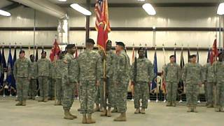 LTC Robert M Burton Change of Command Ceremony, Camp Shelby, MS