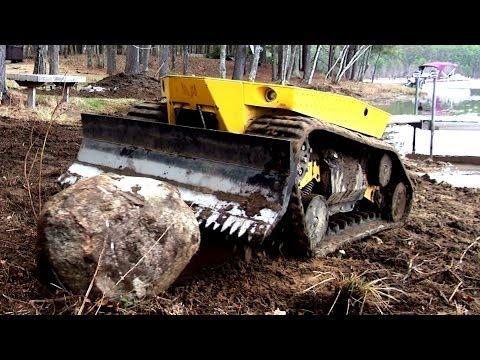 Robot Bulldozer Video (Terramec 1) pretty friggin cool