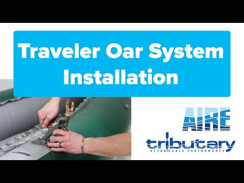 How To Install The Traveler Oar System (2020)