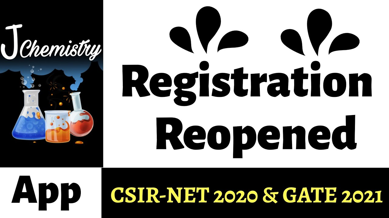 J Chemistry Online Course for csirnet dec 2020 and gate 2021  Registrations Open   J Chemistry App