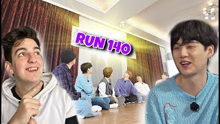 Run BTS! - Ep. 140🔥 PROGRAMA DE ENTRETENIMIENTO! #1😆 - REACCION!