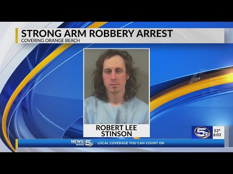 Orange Beach Police Arrest Man Wanted In Publix Pharmacy Robbery