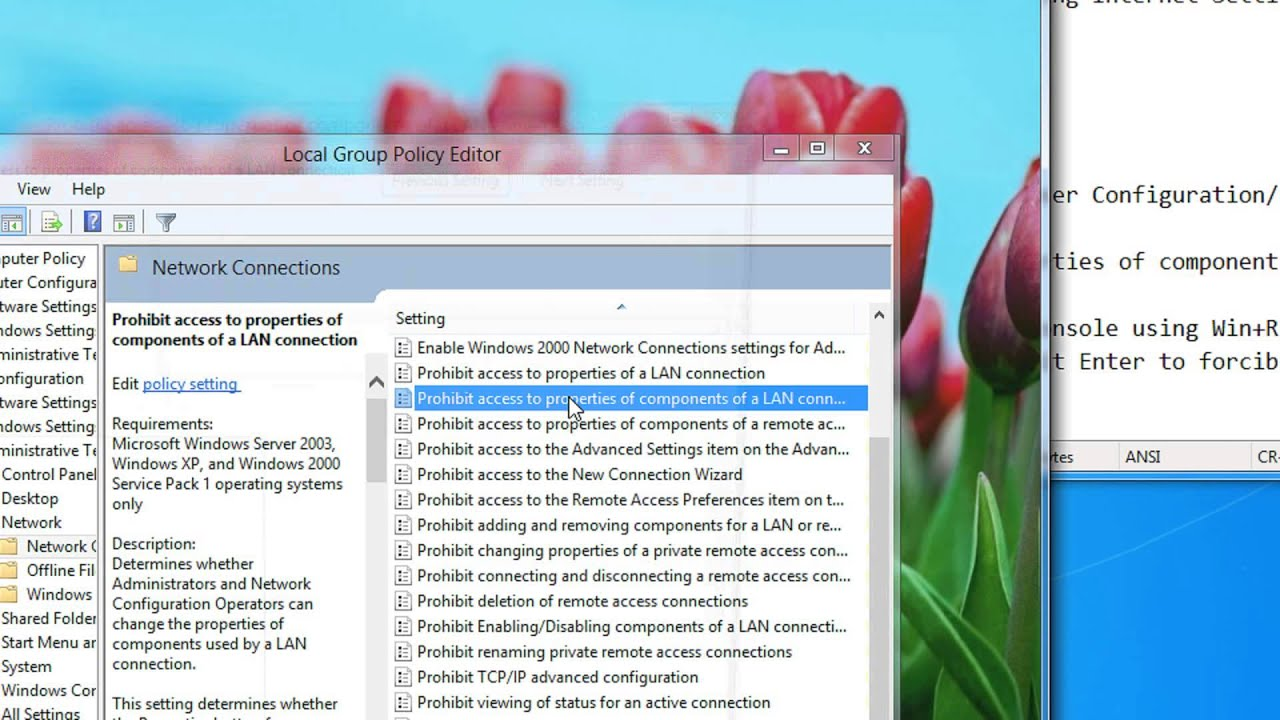 Windows 7 open local group policy editor - Prevent Users From Changing Internet Settings In Windows 7 Or 8 A Step By Step Tutorial