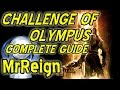 God Of War III Remastered - CHALLENGE OF OLYMPUS - All Challenges