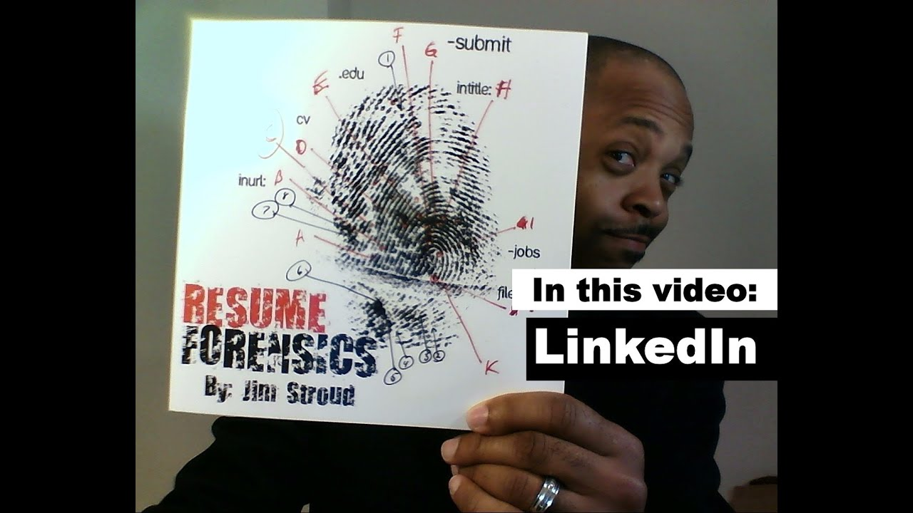 Resume Forensics - How To Find Resumes on LinkedIn - YouTube