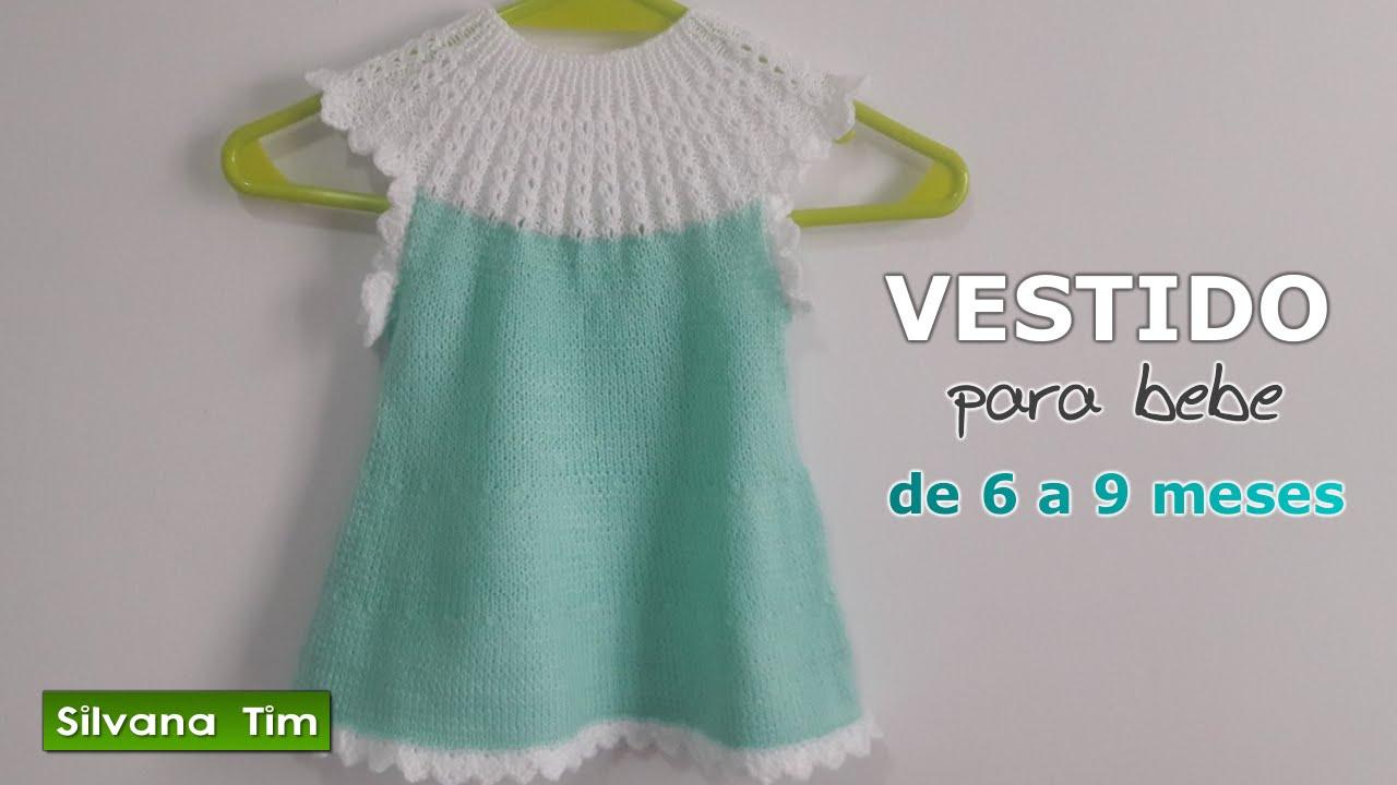 Lujo Patrones Que Hacen Punto Libres Para Vestidos De Las Niñas ...
